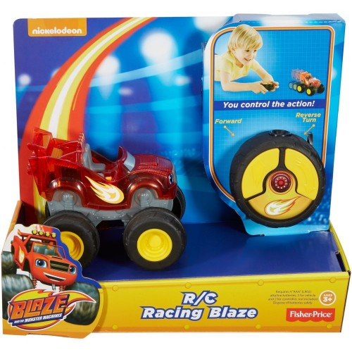 Fisher Price Blz R/C Racing Blaze ,Cars For Boys ,3 Years And Above