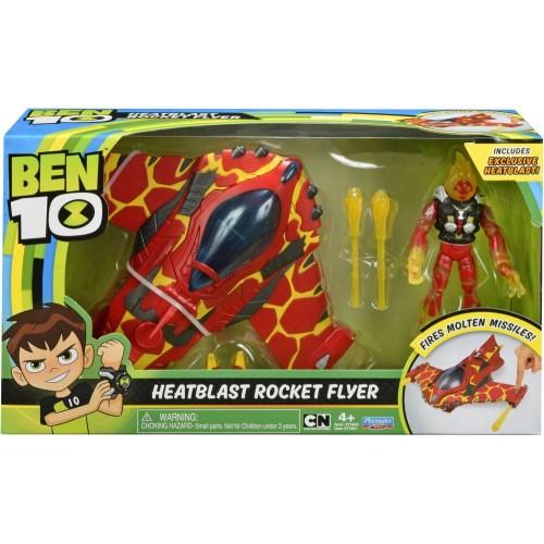 Ben10 Heat blast Rocket Flyer 77400A