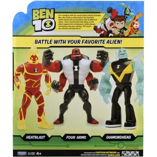 Ben 10 Giant Heat Blast Action figure 76650E-A