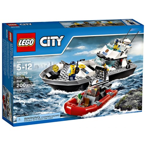 LEGO 60129 City Police Patrol Boat