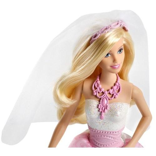 Barbie Fairytale Essentials Royal Bride CFF37 Doll
