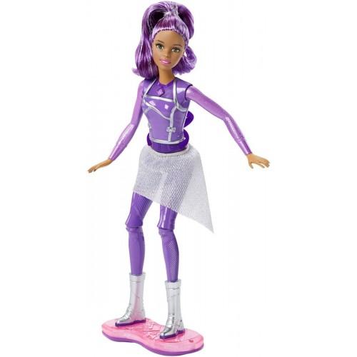 Barbie Star Light Adventure Lights & Sounds Hoverboarder Doll , DLT23