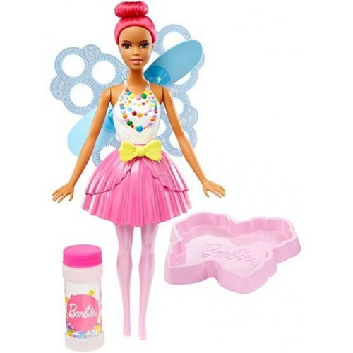 Barbie Dreamtopia Bubbletastic Fairy Doll for Girls, 3 Years and Above - DVM94-B