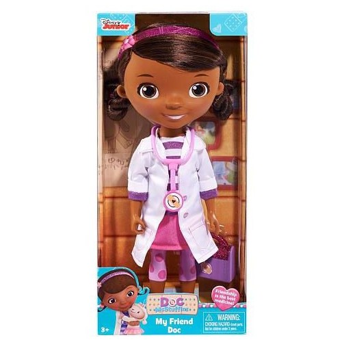 Doc Mcstuffin 91820-DOC My Friend Doctor Doll Play Set, Multi Color