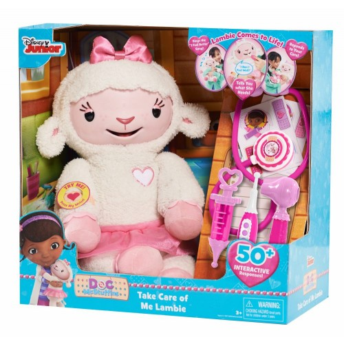 Doc McStuffins Take Care of Me Lambie - 91030-DOC