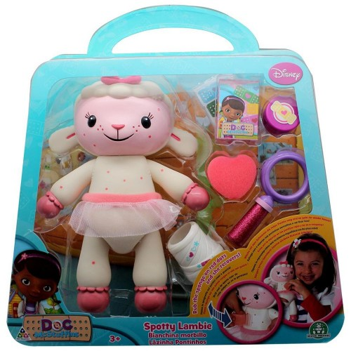 Doc Mcstuffin GPH90122 Rescue Lambie Play Set, Multi Color
