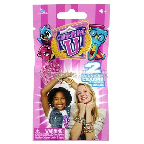 Charm U Foil Bag Pdq 2 Charms And Stickers CU30040 Educational Toys