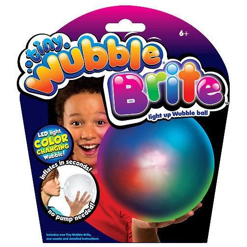 Tiny Wubble Brite Light Up Wubble Ball - 72365