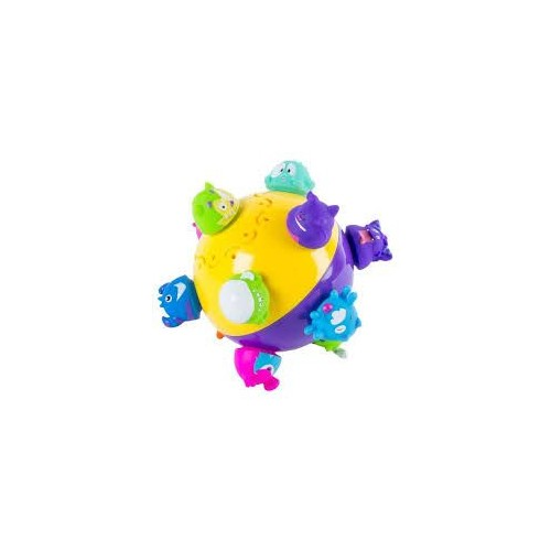 Chuckle Ball Crazy Motorized Bouncing Action Ball - 6037929
