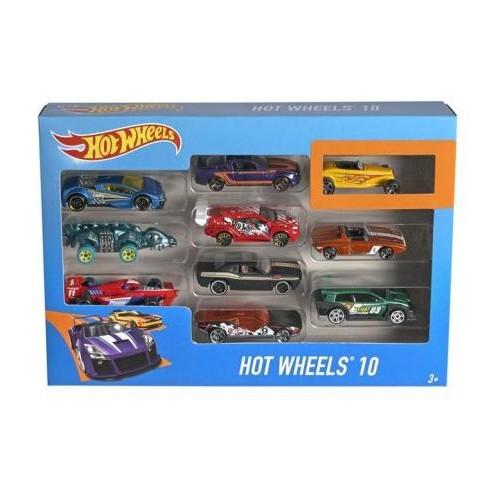 Hot Wheel Basic Car 10 Pack 54886 B - 4 to 6 Years