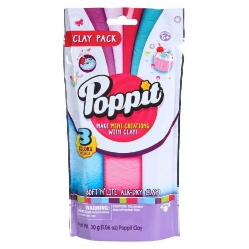Poppit S1 Poppit Clay Pack for Children ,17401b