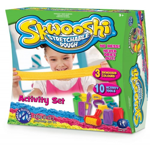 Skwooshi Activity Set - 3 Color - 10 Tools -3000412003N