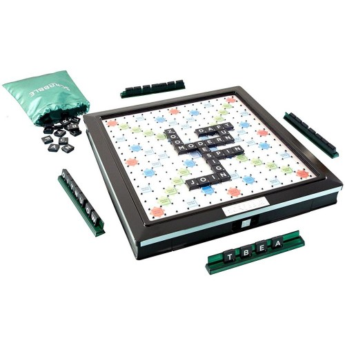 Mattel Scrabble Deluxe