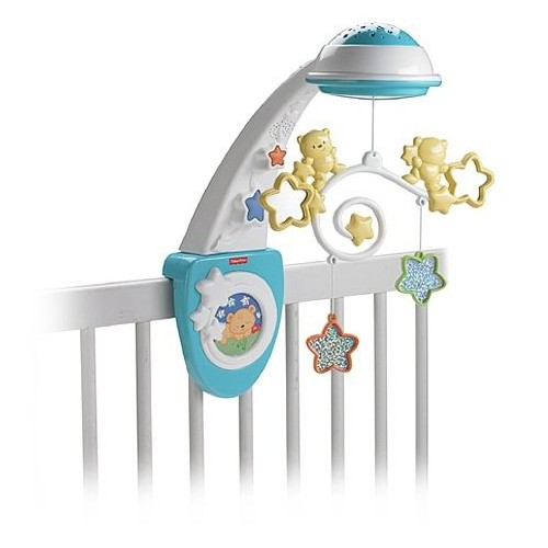 Fisher-Price Sparkling Symphony Mobile Amusement Toy [Blue, White and Yellow, Y3635]