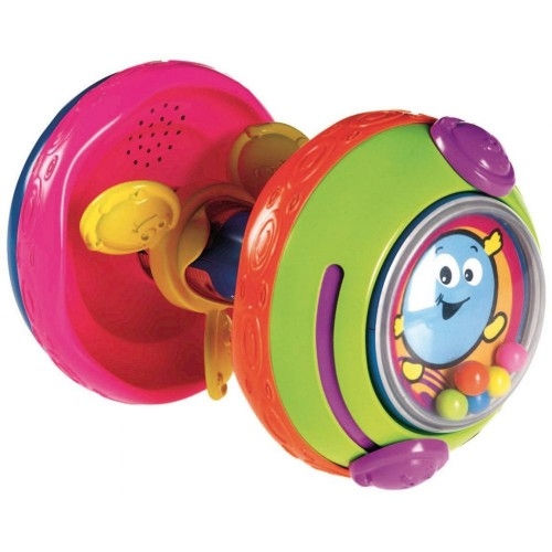 Fisher-Price Bat and Crawl Rollerbar Amusement Toy [Multicolor, W9862]