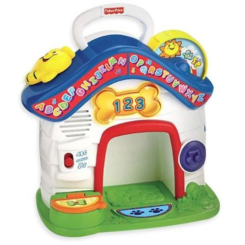 Fisher-Price W9743 Laugh and Learn Puppy Playhouse