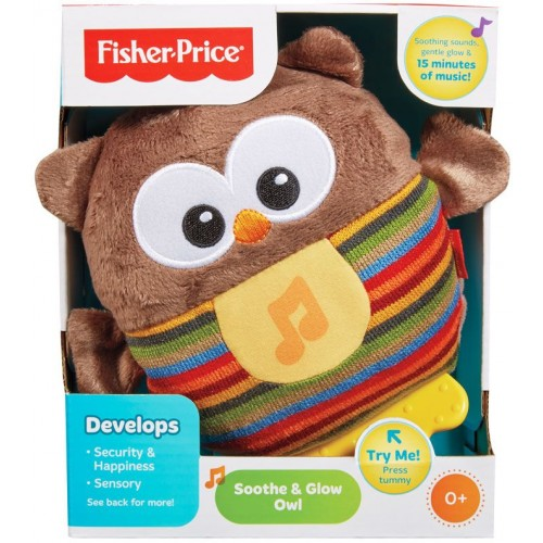 Fisher-Price CDN55 Soothe & Glow Owl