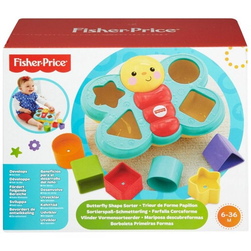 Fisher Price CDC22 Sort And Spill Butterfly Toy