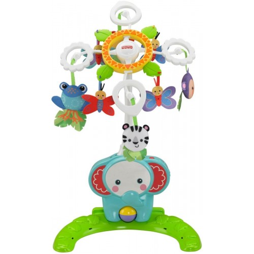 Fisher Price Deluxe Crib-To-Floor Mobile Soother Toy [BFR22]