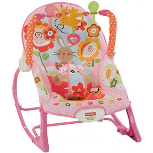 Fisher Price Toddler Rocker Swing Chair - Multi Color, Y8184