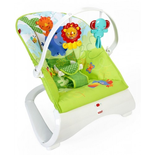 Fisher Price New Fashion Bouncer Rainforest Friends - Multi Color - CJJ79
