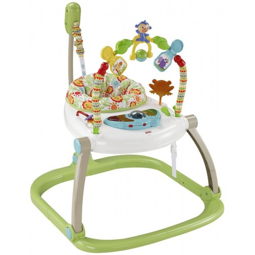 Fisher-Price CHN38 Rainforest Friends Spacesaver Jumperoo