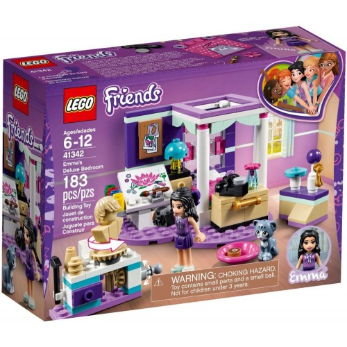 LEGO FRIENDS Emma's Deluxe Bedroom 41342