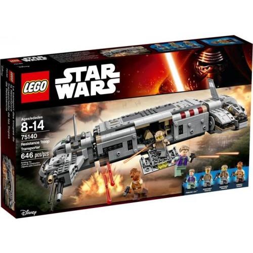 LEGO STAR WARS: RESISTANCE TROOP TRANSPORTER 75140