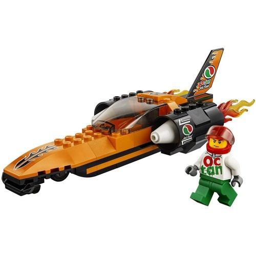 LEGO City Great Vehicles Speed Record Car 60178 Construction, Building Sets & Blocks - 5 Years & Above