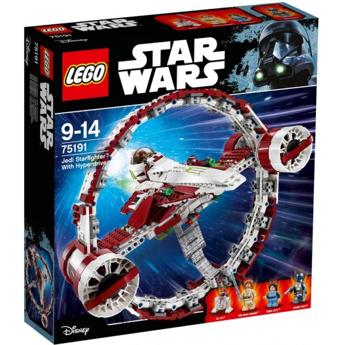 Lego Jedi Starfighter With Hyperdrive , 8 Years , 75191
