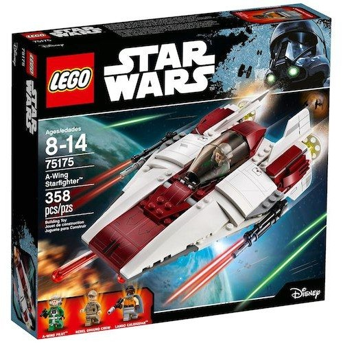 Lego A-wing Starfighter Set , 8 Years , 75175