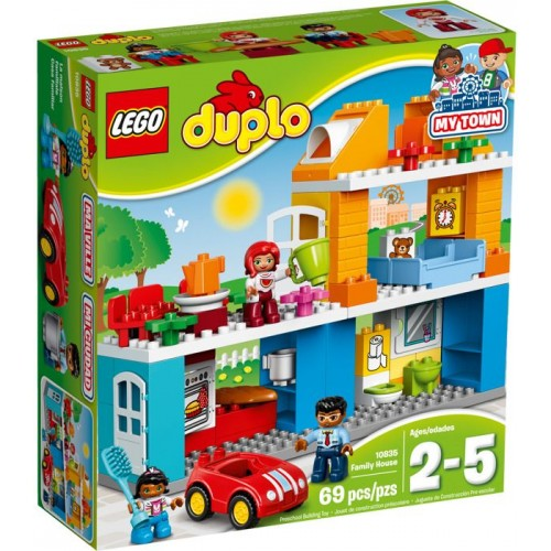 Lego Duplo Town Family House Building Toy - 10835