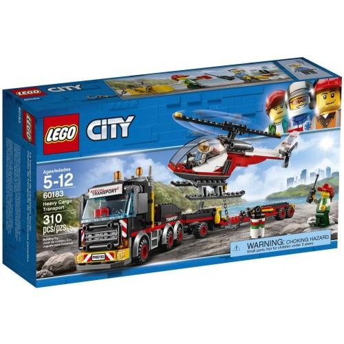 LEGO City Great Vehicles Heavy Cargo Transport 60183 Building Kit