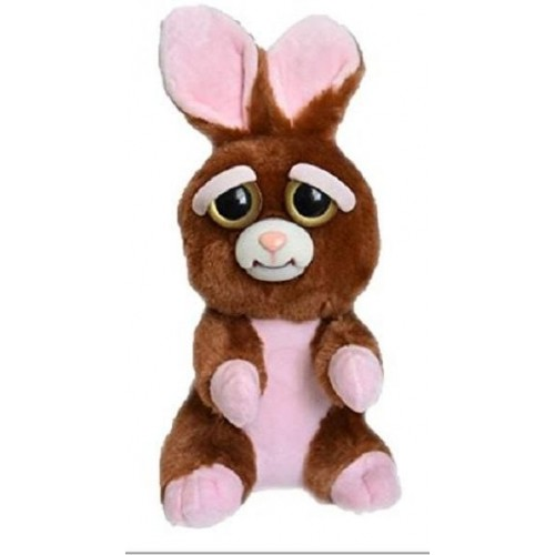 William Mark Feisty Pets Vicky Vicious Plush Adorable Plush Stuffed Bunny that Turns Feisty with a Squeeze