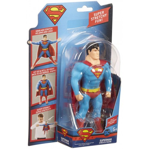 DC Comics Justice League Mini Superman Stretch Action Figure - 5 Years & Above