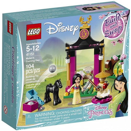 LEGO Disney Princess Mulan's Training Day 41151 Construction, Building Sets & Blocks - 5 Years & Above