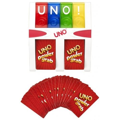 Mattel Uno Power Grab Game, Red [Y2316]