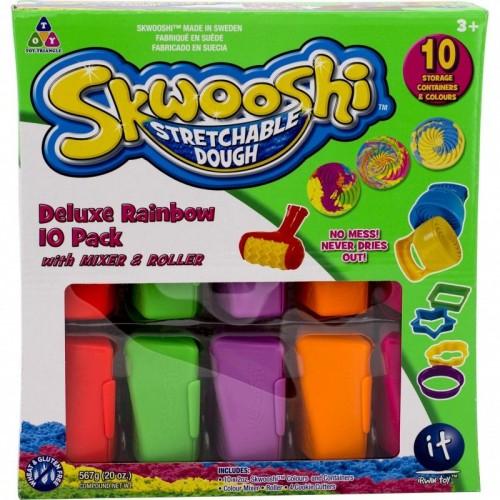 Skwooshi Rainbow 10 Pack With Mixer & Roller