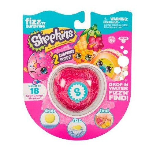 Fizz N Surprise 19083 Shopkins Bath bomb