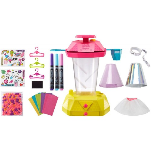 Barbie Crayola Confetti Skirt Studio Playset FRP02
