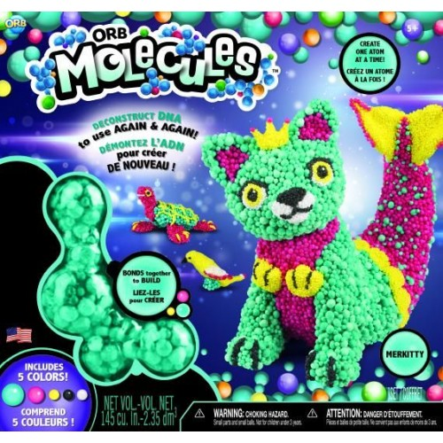 ORB Merkitty Molecules Animal Play Set, Multi-Colour (78942)