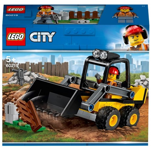 Lego Toy City Construction Loader , For age 5 Years and above - 60219