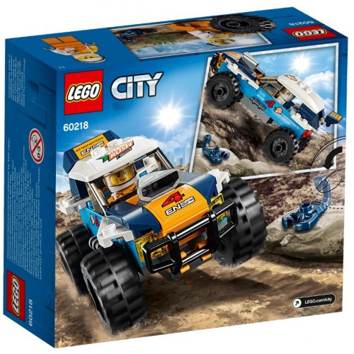 Lego Toy City Desert Rally Racer , For age 5 Years and above - 60218