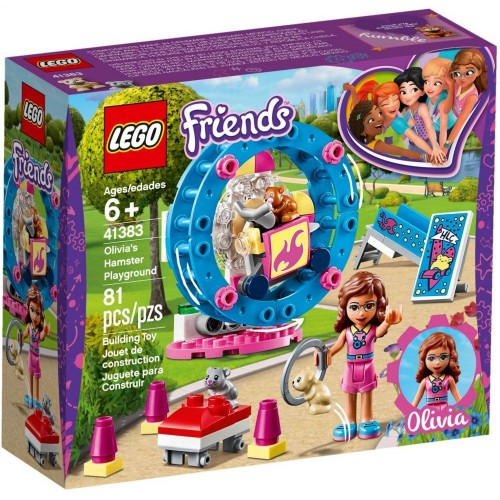 lego FRIENDS - Olivia's Hamster Playground 41383