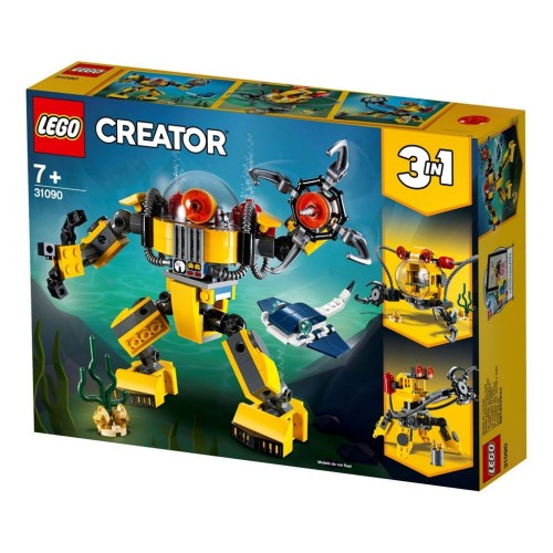 Lego Toy Creator Underwater Robot , For age 7 Years and above - 31090