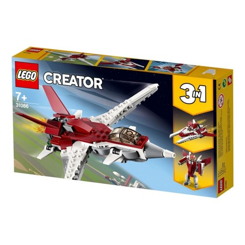 Lego Toy Creator Futuristic Flyer , For age 7 Years and above - 31086