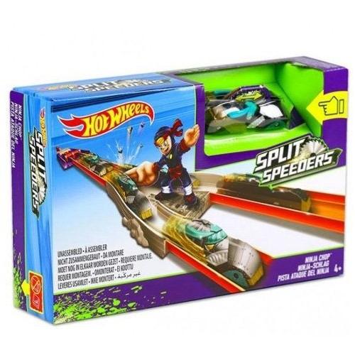 Hot Wheel Split Speeders Ninja Launcher DJC31 - 4 to 6 Years