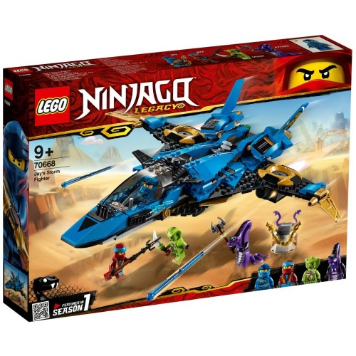 Lego Toy Ninjago Jay's Storm Fighter , For age 9 Years and above - 70668