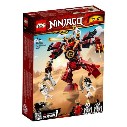 Lego Toy Ninjago The Samurai Mech , For age 7 Years and above - 70665