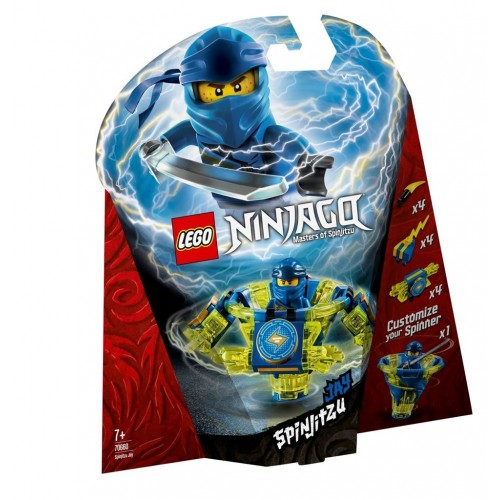 Lego Toy Ninjago Spinjitzu Jay , For age 7 Years and above - 70660